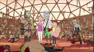Rick Breaks The Fourth Wall Again - Rick And Morty S3E2