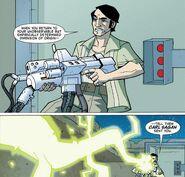 Carl Sagan Atomic Robo Lightning Gun