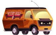 Mystery Skulls Van