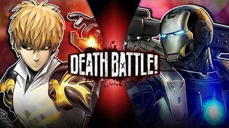 Genos VS War Machine (One Punch Man VS Marvel's Iron Man) DEATH BATTLE!