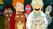 Space Cats Futurama
