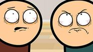 Staring Contest - Cyanide & Happiness Shorts