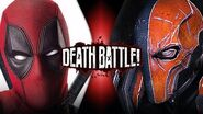 Deadpool VS Deathstroke (Marvel VS DC) DEATH BATTLE!