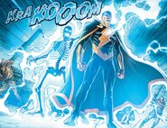 Lighting Summoning by Black Adam
