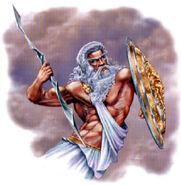 Zeus lord of sky