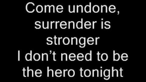 FFH - Undone (lyrics)
