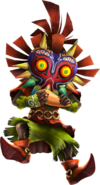 HWL Skull Kid Ocarina Artwork