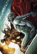 Beta Ray Bill vs Silver Surfer