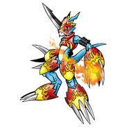 Flamedramon b