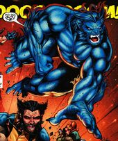 Beast Jim Lee art