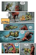 IDW splinter vs donatello