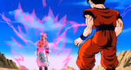 Super Buu destruction