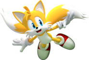 Miles Tails Prower (Sonic the Hedgehog) flight