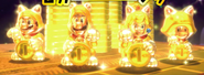 SM3DW Lucky Bell Statues