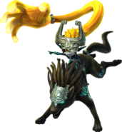 Midna (The Legend of Zelda) Twilight Wolfo