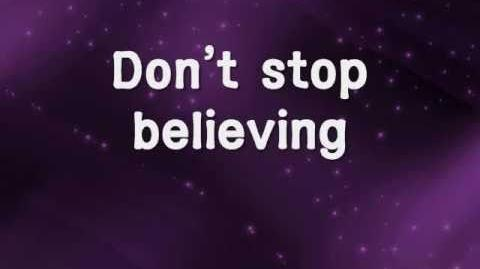 Don't Stop Believin' - Journey w lyrics
