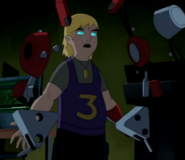 Cooper armando su robot