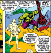 Hulk Sees Astral