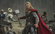 Thor with Mjølnir