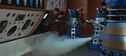 Daleks using gas