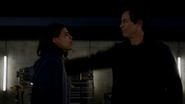Eobard kills Cisco to protect his secret