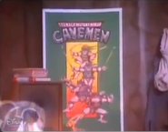 Teenage Mutant Ninja Cavemen poster Dinosaurs