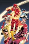 The Flash Rebirth-6 Cover-3 Teaser