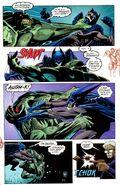 Vampire Batman vs Killer Croc