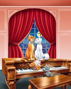 Aristocats and piano