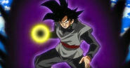 Goku Black Dark Aura