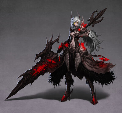 Milia the damned (true form
