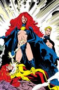 Madelyne Pryor - psychic whip