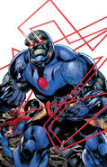 Darkseid - Omega Beams