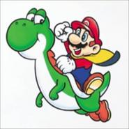 Cape Mario & Yoshi