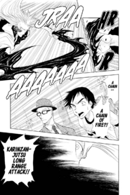 Karinzanjutsu Long Range Attack- Fukuryūhō