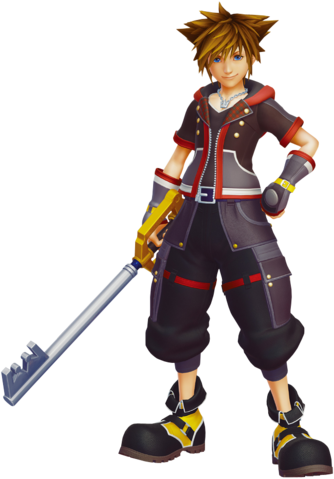 File:Sora Kingdom Hearts III.png