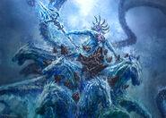 God of War III Poseidon 02 by andyparkart