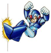 Mega Man X Wall Jump Slide