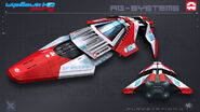 AGSystems WipEout FURY PS3 by nocomplys