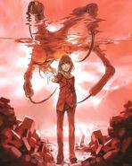 Fiamma of the Right (Toaru Majutsu no Index) red