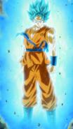 Goku Blue Aura