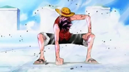 Luffy Gear Second