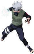 Kakashi Hatake Lightning Blade render
