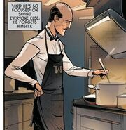 Alfred cooking