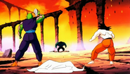 Goku and Piccolo in Dead zone
