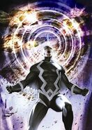 Black Bolt screaming