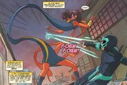 Ms. Marvel Kamala Khan (Marvel Comics) dodge