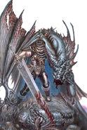 Supernatural Hunter Physiology by Guts, the Black Swordsman