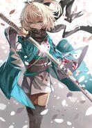 Sword admist the fleeting Blossoms