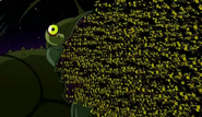 Clancy (Ben 10) bugs mouth